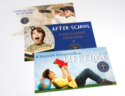 Coram Deo Academy Mailers