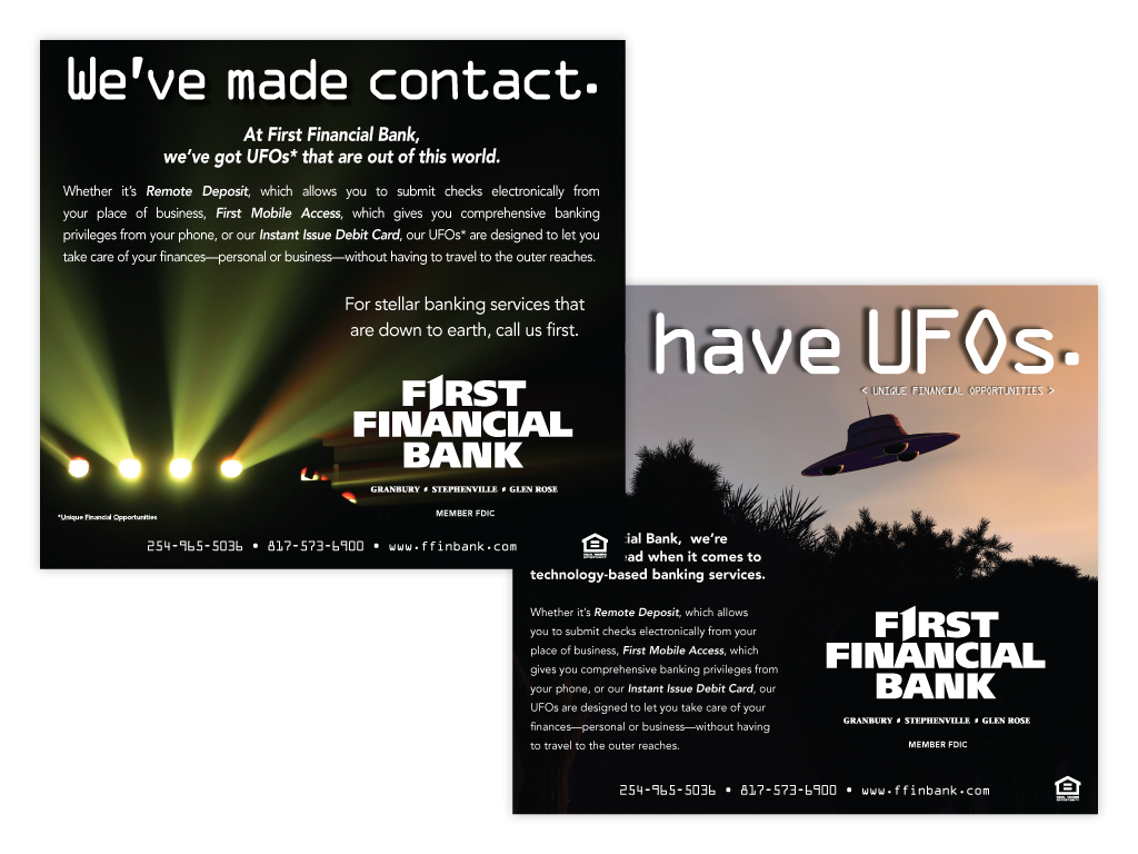First Financial Bank Ads Contemporary Communications Inc